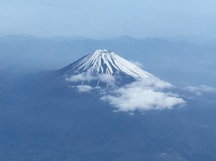 往路の富士山.JPG